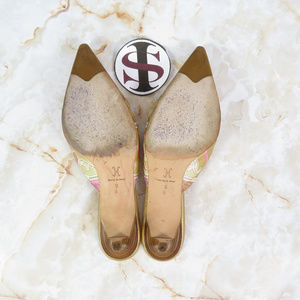 Cole Haan Shoes - Cole Haan Collection Kitten Heel Mules